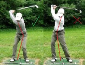 backswing hip
